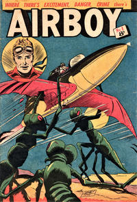 Cover Thumbnail for Airboy (Horwitz, 1953 series) #1