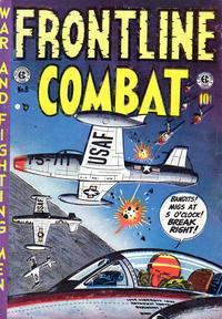 Cover Thumbnail for Frontline Combat (Superior Publishers Limited, 1951 series) #8