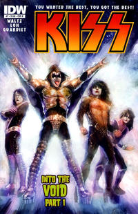 Cover Thumbnail for Kiss (IDW, 2012 series) #7 [Cover B by Xermánico]