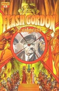 Cover Thumbnail for Flash Gordon: Zeitgeist (Dynamite Entertainment, 2011 series) #5 [Cover A (75%) Alex Ross]