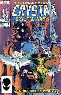 Cover Thumbnail for The Saga of Crystar, Crystal Warrior (Marvel, 1983 series) #11 [Direct]