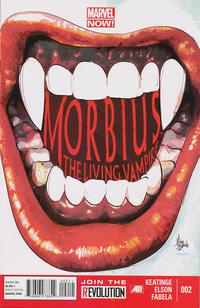 Cover Thumbnail for Morbius: The Living Vampire (Marvel, 2013 series) #2