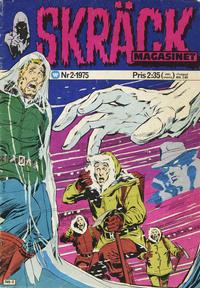 Cover Thumbnail for Skräckmagasinet (Williams Förlags AB, 1972 series) #2/1975