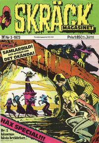 Cover Thumbnail for Skräckmagasinet (Williams Förlags AB, 1972 series) #3/1973