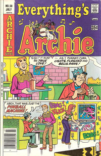 Cover Thumbnail for Everything's Archie (Archie, 1969 series) #58