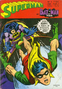 Cover Thumbnail for Superman et Batman et Robin (Sage - Sagédition, 1969 series) #1