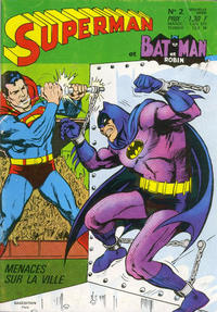 Cover Thumbnail for Superman et Batman et Robin (Sage - Sagédition, 1969 series) #2