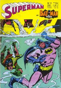 Cover Thumbnail for Superman et Batman et Robin (Sage - Sagédition, 1969 series) #3