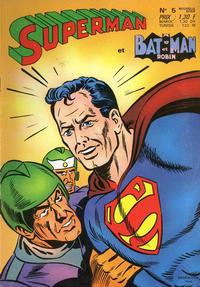 Cover Thumbnail for Superman et Batman et Robin (Sage - Sagédition, 1969 series) #5