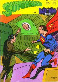 Cover Thumbnail for Superman et Batman et Robin (Sage - Sagédition, 1969 series) #7