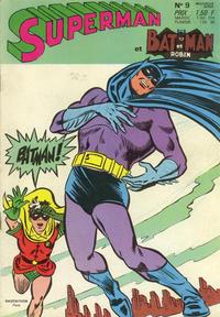 Cover Thumbnail for Superman et Batman et Robin (Sage - Sagédition, 1969 series) #9