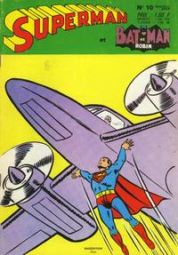 Cover Thumbnail for Superman et Batman et Robin (Sage - Sagédition, 1969 series) #10