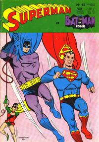 Cover Thumbnail for Superman et Batman et Robin (Sage - Sagédition, 1969 series) #13