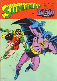 Cover Thumbnail for Superman et Batman et Robin (Sage - Sagédition, 1969 series) #14