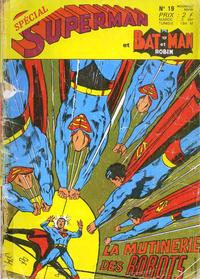 Cover Thumbnail for Superman et Batman et Robin (Sage - Sagédition, 1969 series) #19