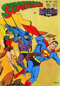 Cover Thumbnail for Superman et Batman et Robin (Sage - Sagédition, 1969 series) #18