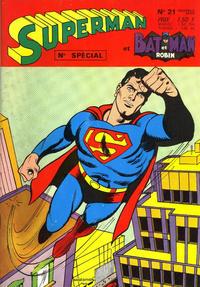 Cover Thumbnail for Superman et Batman et Robin (Sage - Sagédition, 1969 series) #21