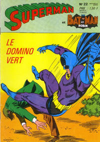 Cover Thumbnail for Superman et Batman et Robin (Sage - Sagédition, 1969 series) #22