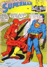 Cover Thumbnail for Superman et Batman et Robin (Sage - Sagédition, 1969 series) #25