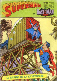 Cover Thumbnail for Superman et Batman et Robin (Sage - Sagédition, 1969 series) #28