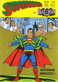 Cover Thumbnail for Superman et Batman et Robin (Sage - Sagédition, 1969 series) #29