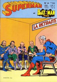 Cover Thumbnail for Superman et Batman et Robin (Sage - Sagédition, 1969 series) #30
