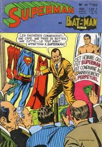 Cover Thumbnail for Superman et Batman et Robin (Sage - Sagédition, 1969 series) #33