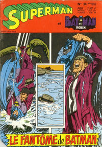 Cover Thumbnail for Superman et Batman et Robin (Sage - Sagédition, 1969 series) #34