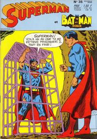 Cover Thumbnail for Superman et Batman et Robin (Sage - Sagédition, 1969 series) #35