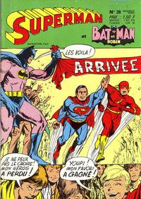 Cover Thumbnail for Superman et Batman et Robin (Sage - Sagédition, 1969 series) #38