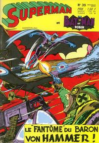 Cover Thumbnail for Superman et Batman et Robin (Sage - Sagédition, 1969 series) #39