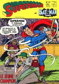 Cover Thumbnail for Superman et Batman et Robin (Sage - Sagédition, 1969 series) #41