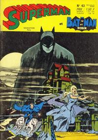 Cover Thumbnail for Superman et Batman et Robin (Sage - Sagédition, 1969 series) #43