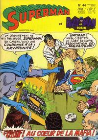 Cover Thumbnail for Superman et Batman et Robin (Sage - Sagédition, 1969 series) #44