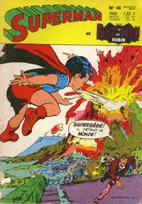 Cover Thumbnail for Superman et Batman et Robin (Sage - Sagédition, 1969 series) #46