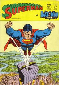 Cover Thumbnail for Superman et Batman et Robin (Sage - Sagédition, 1969 series) #49