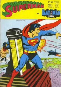 Cover Thumbnail for Superman et Batman et Robin (Sage - Sagédition, 1969 series) #50