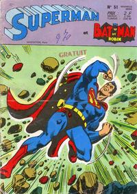 Cover Thumbnail for Superman et Batman et Robin (Sage - Sagédition, 1969 series) #51