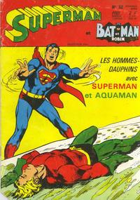 Cover Thumbnail for Superman et Batman et Robin (Sage - Sagédition, 1969 series) #52