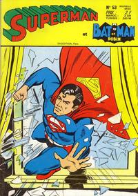 Cover Thumbnail for Superman et Batman et Robin (Sage - Sagédition, 1969 series) #53