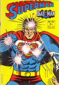Cover Thumbnail for Superman et Batman et Robin (Sage - Sagédition, 1969 series) #57