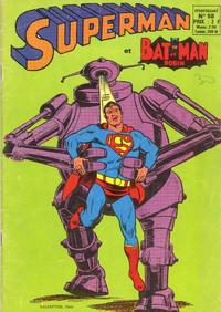 Cover Thumbnail for Superman et Batman et Robin (Sage - Sagédition, 1969 series) #58