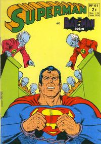 Cover Thumbnail for Superman et Batman et Robin (Sage - Sagédition, 1969 series) #61