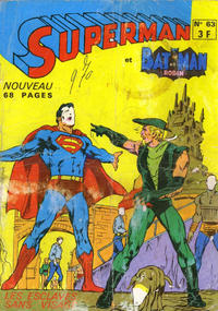 Cover Thumbnail for Superman et Batman et Robin (Sage - Sagédition, 1969 series) #63