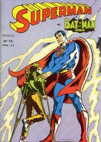 Cover Thumbnail for Superman et Batman et Robin (Sage - Sagédition, 1969 series) #70