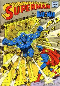 Cover Thumbnail for Superman et Batman et Robin (Sage - Sagédition, 1969 series) #73