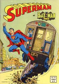 Cover Thumbnail for Superman et Batman et Robin (Sage - Sagédition, 1969 series) #75