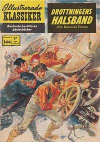Cover Thumbnail for Illustrerade klassiker (Illustrerade klassiker, 1956 series) #144 - Drottningens halsband