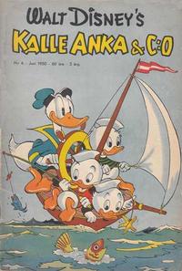 Cover Thumbnail for Kalle Anka & C:o (Richters Förlag AB, 1948 series) #6/1950