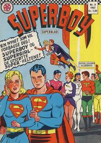Cover Thumbnail for Superboy (Serieforlaget / Se-Bladene / Stabenfeldt, 1967 series) #8/1967
